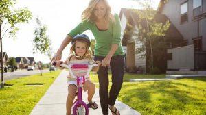 Biking in Evergreen