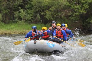 5 Big Differences Between Rafting on Clear Creek and Upper Colorado River