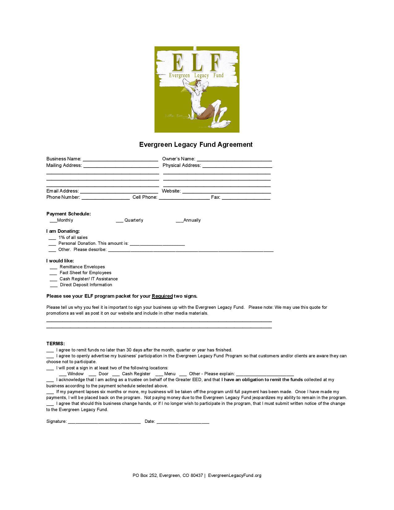 ELF Agreement