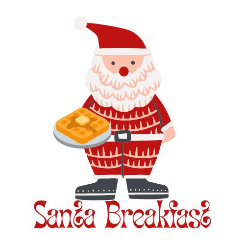 Santa Breakfast Logo