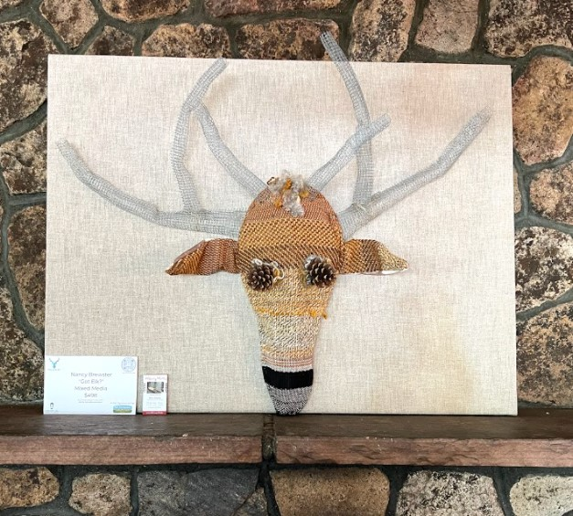 Nancy Brewster, available to view at El Rancho Brewing